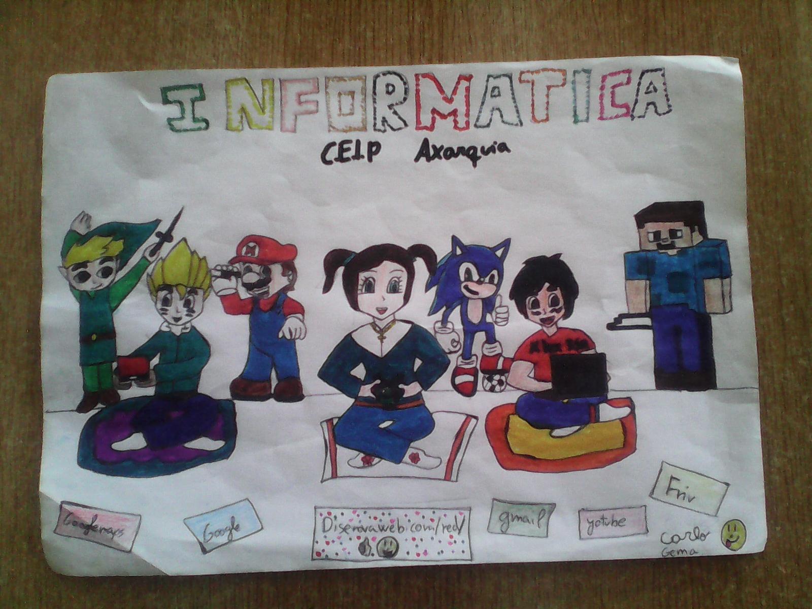 Dibujo Informática – Gema y Carlo