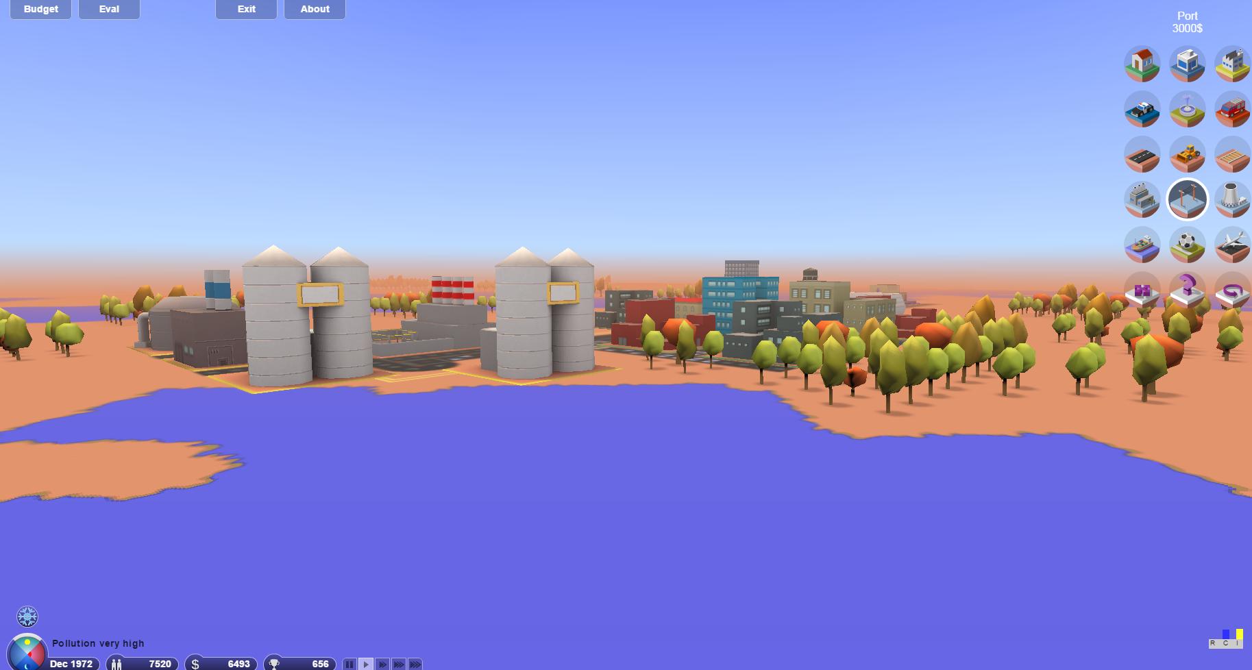3D.CITY BUILDER. Construye una ciudad.