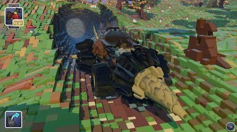 Ya os dijimos que Lego Worlds pintaba a Minecraft killer, pero un vídeo vale más que mil palabras
