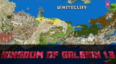 Increíble reino en Minecraft