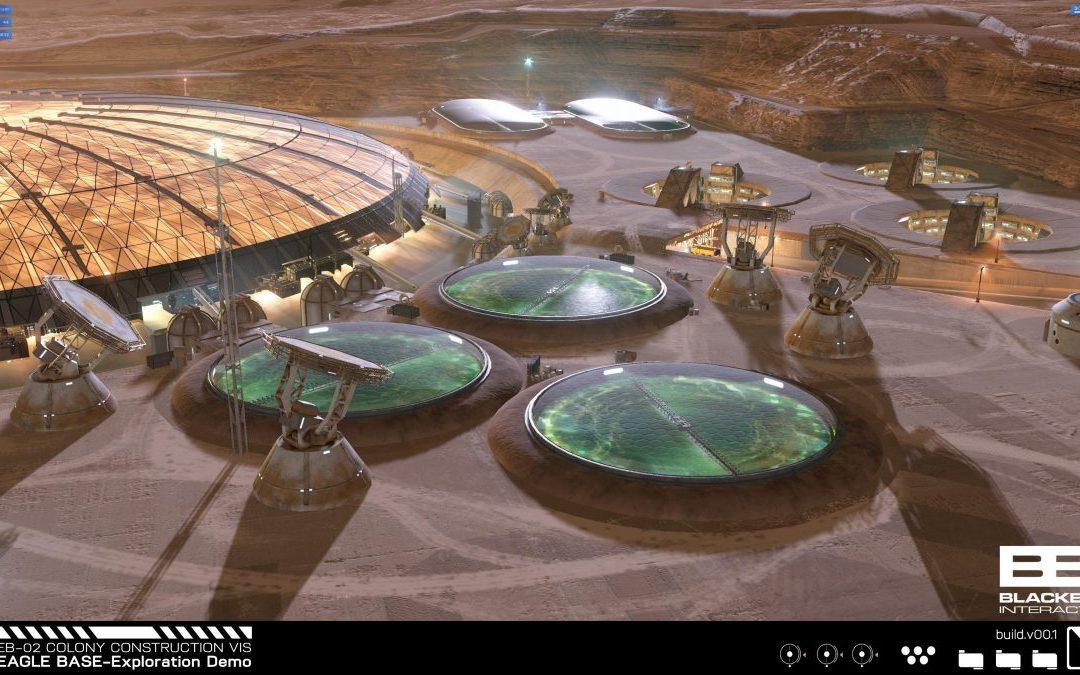 Simulación de base en Marte