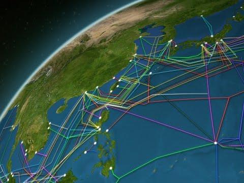 Por estos cables pasan el 99% de Internet.