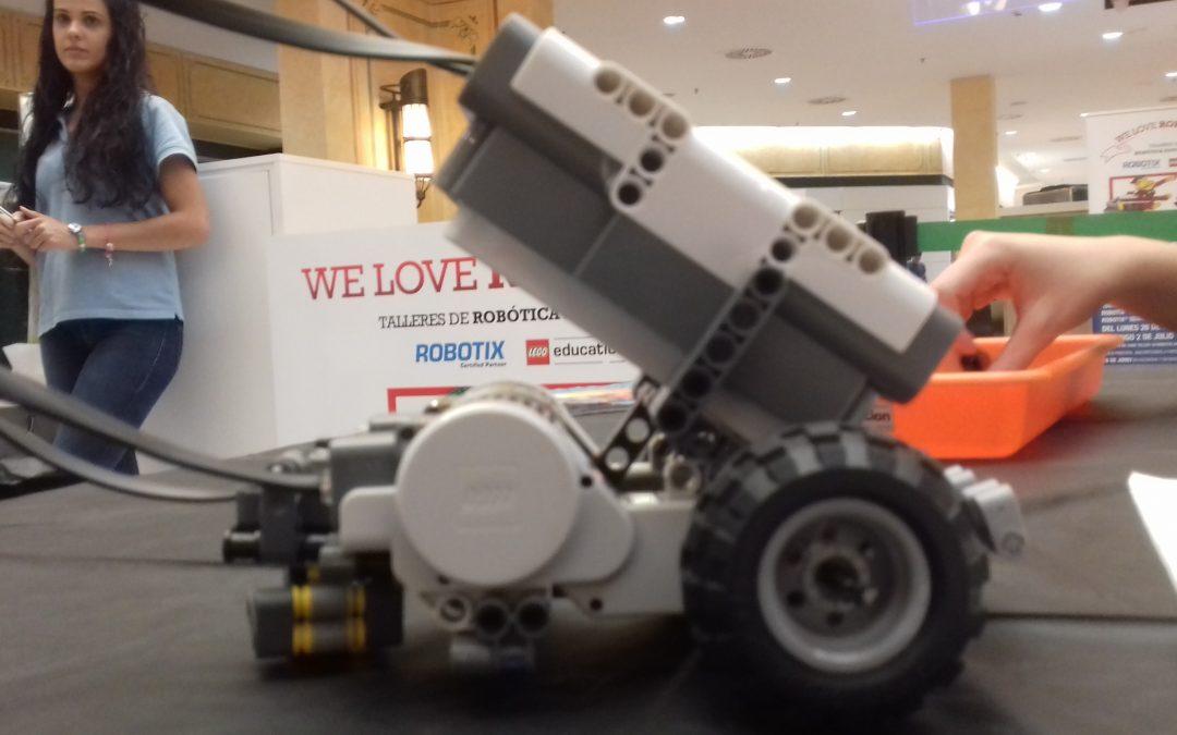 Taller de Robótica de Lego.