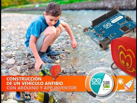 Vehículo anfibio con Arduino