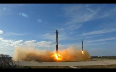Falcon Heavy – Histórico lanzamiento