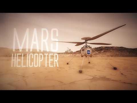 Un helicóptero para Marte.