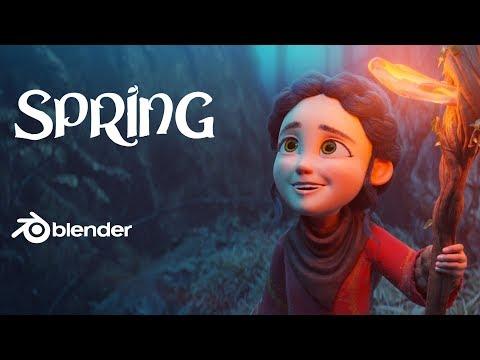 Spring – Nuevo corto de Blender